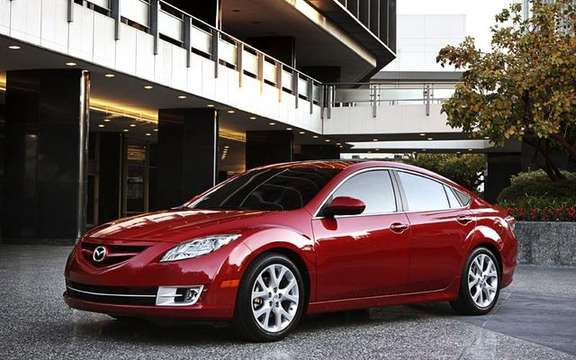 The Mazda 6 2009 First images! picture #3