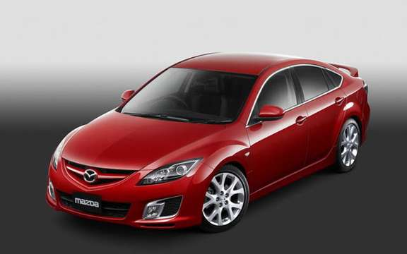 The Mazda 6 2009 First images! picture #4