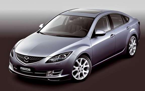 The Mazda 6 2009 First images! picture #5