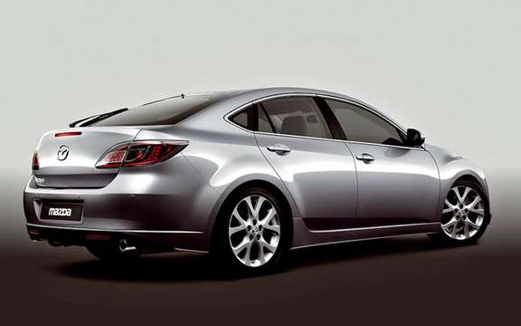 The Mazda 6 2009 First images! picture #6