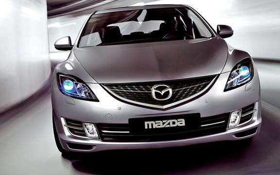 The Mazda 6 2009 First images! picture #7