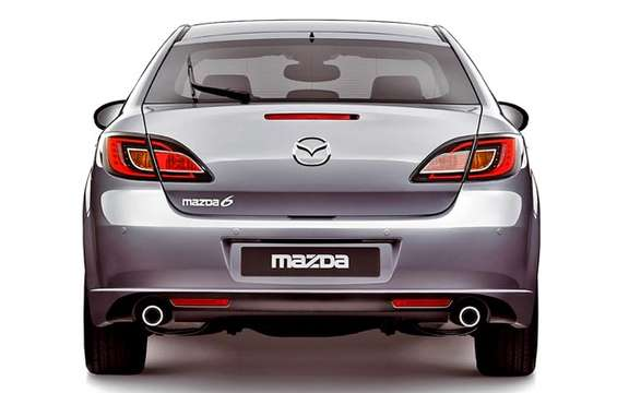 The Mazda 6 2009 First images! picture #8
