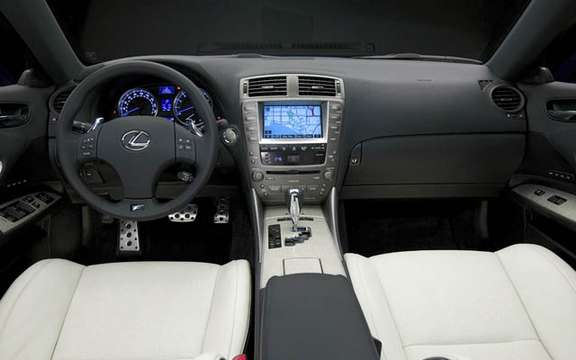 A large sports sedan Lexus IS-F 2008 picture #8