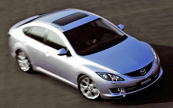 The Mazda 6 2009 First images! picture #9