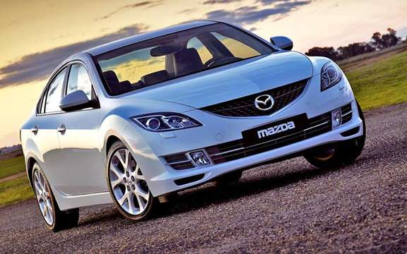 The Mazda 6 2009 First images! picture #10