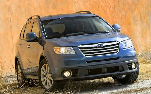 "The IIHS awarded its rating ""Top Safety Pick"" has all the 2008 Subaru picture #2"