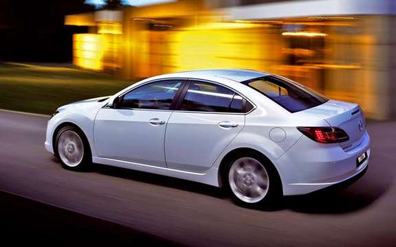 The Mazda 6 2009 First images! picture #11