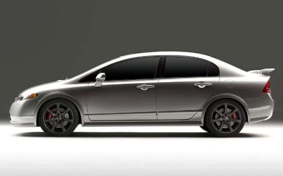 Honda Civic Si 2008 has four doors! picture #9