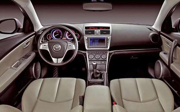 The Mazda 6 2009 First images! picture #12