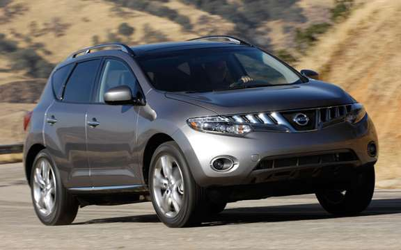 Nissan Canada announces pricing for all-new 2009 Murano