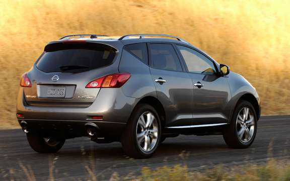 Nissan Canada announces pricing for all-new 2009 Murano picture #2