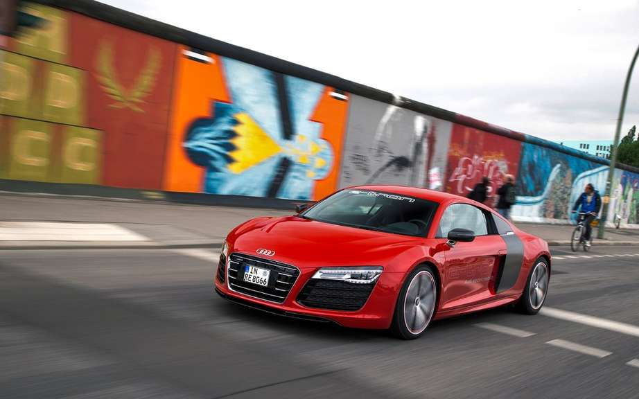 Audi R8 e-tron: we will perhaps produce! picture #2