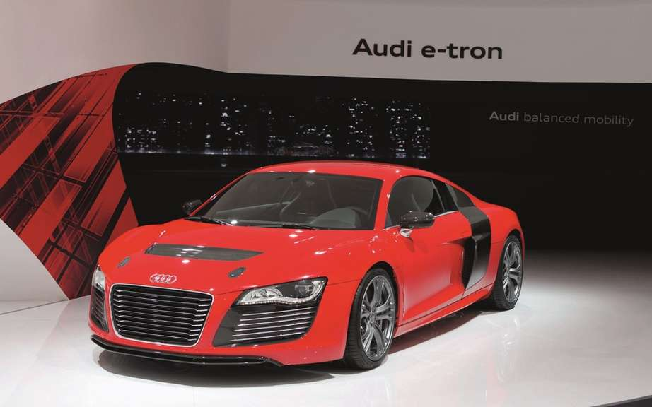 Audi R8 e-tron: we will perhaps produce! picture #3