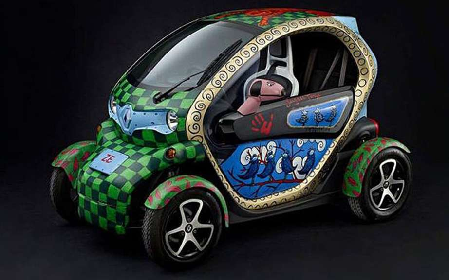 Renault Twizy Art Car auction picture #5