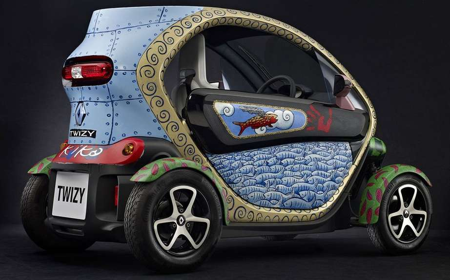 Renault Twizy Art Car auction picture #6