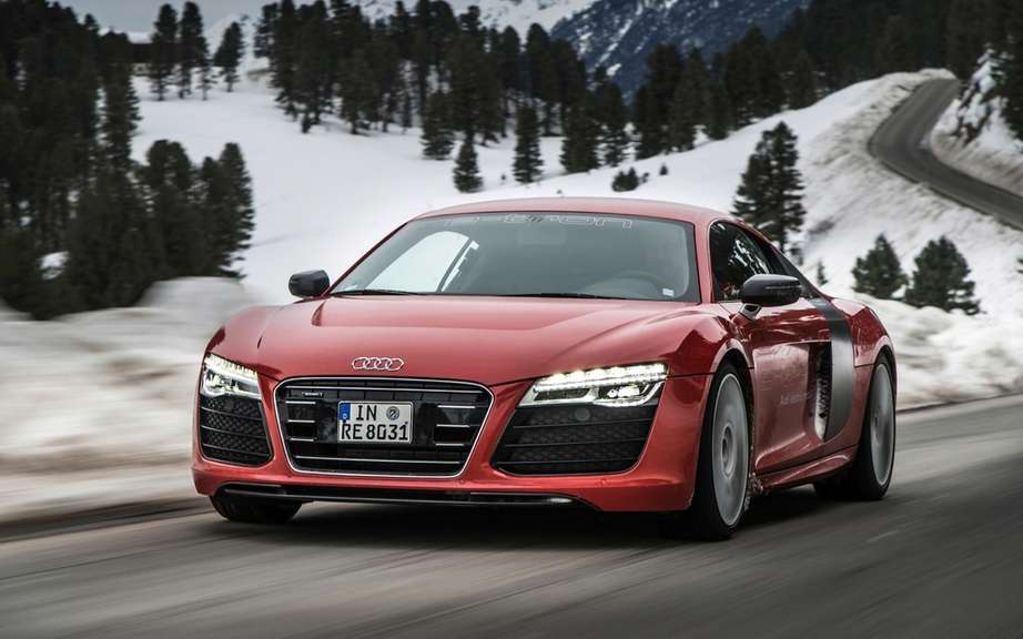 Audi R8 e-tron: we will perhaps produce! picture #4