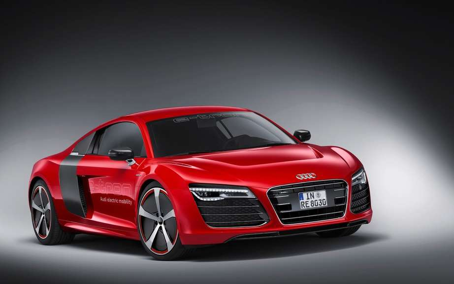 Audi R8 e-tron: we will perhaps produce! picture #6