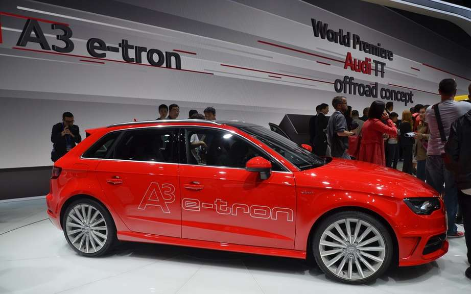 Launches: Offroad Concept Audi TT and Audi A3 Sportback e-tron picture #9