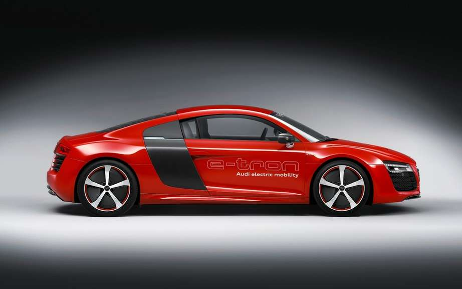 Audi R8 e-tron: we will perhaps produce! picture #7