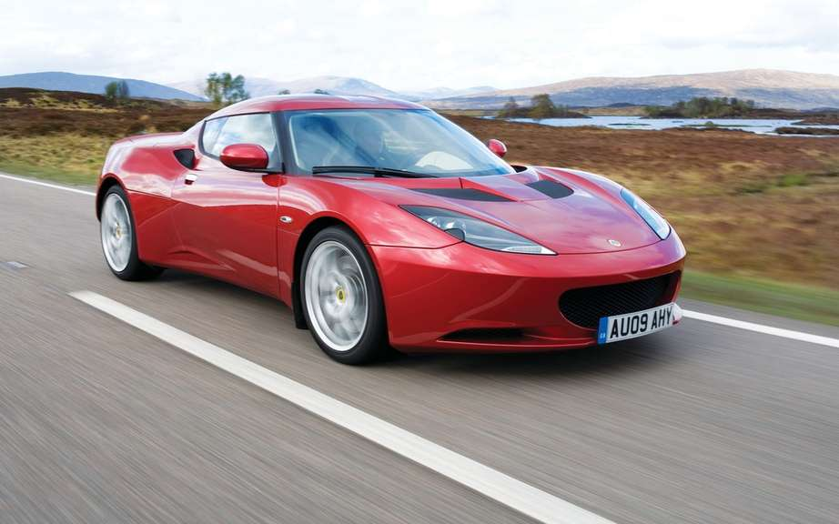 Lotus Evora S for the British police