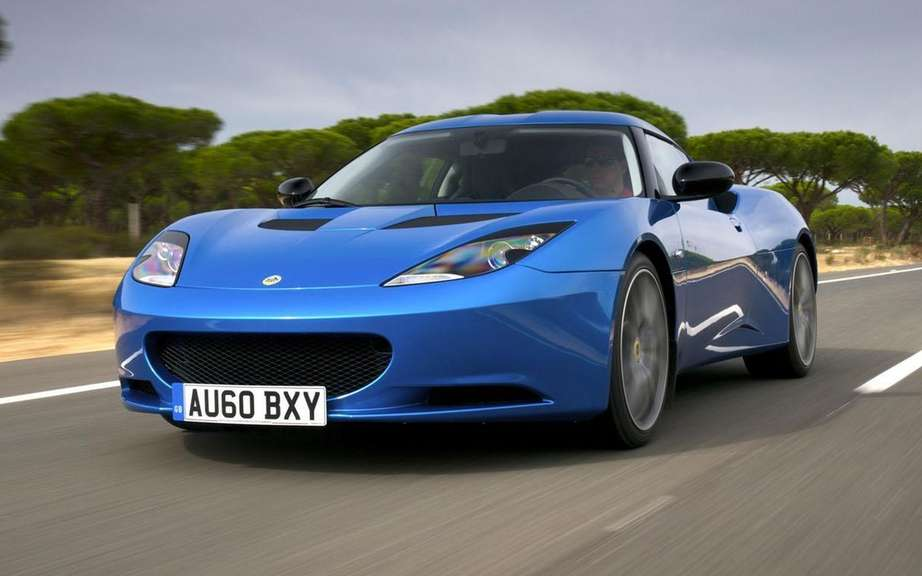 Lotus Evora S for the British police picture #2