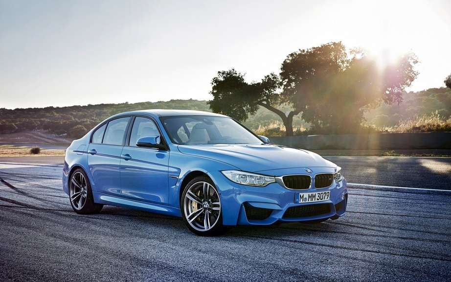 Here are the 2015 BMW M3 and M4 picture #8