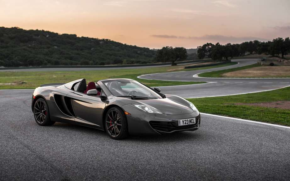 This is the end for the McLaren MP4-12C picture #8