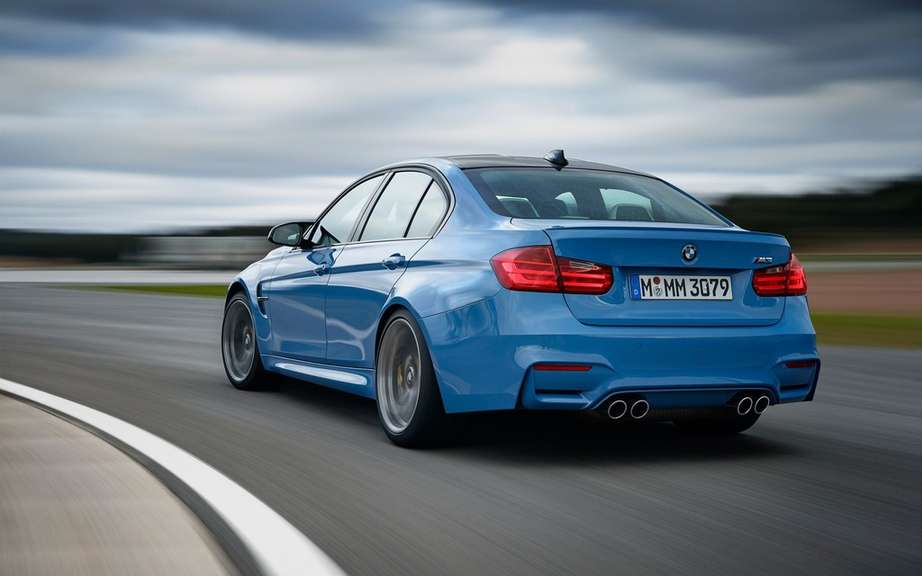 Here are the 2015 BMW M3 and M4 picture #10
