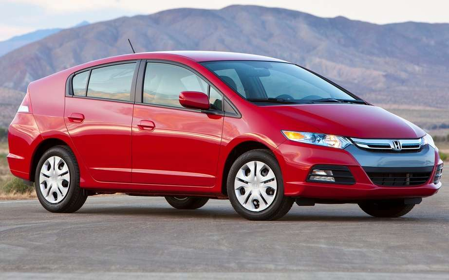Honda Insight abandon its