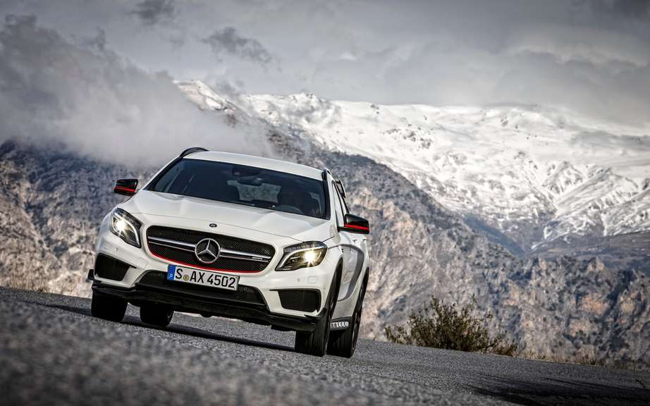 Start of production of the Mercedes-Benz GLA picture #1