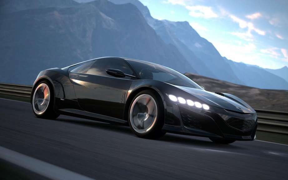 Acura NSX Concept: another star Gran Turismo 6 picture #4