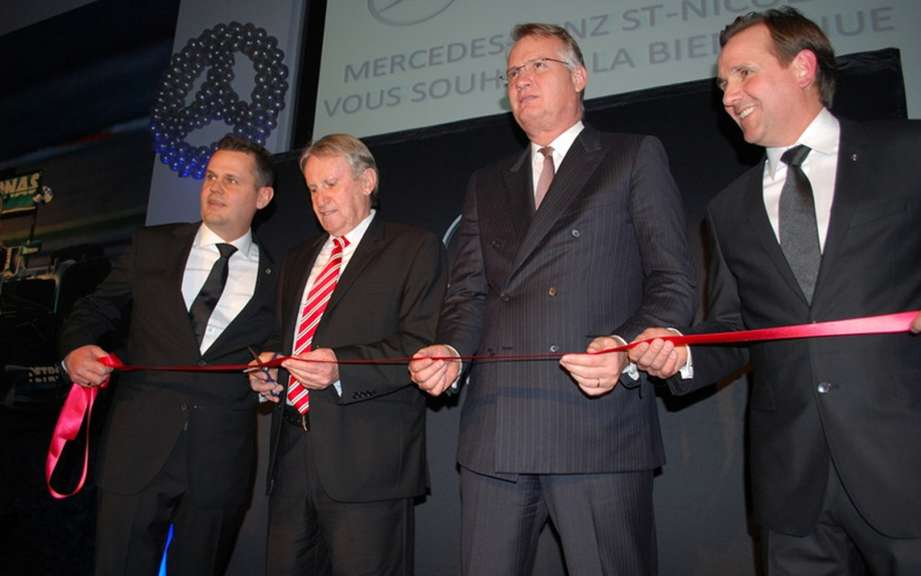 Mercedes-Benz Canada opens new dealership in St-Nicolas picture #4