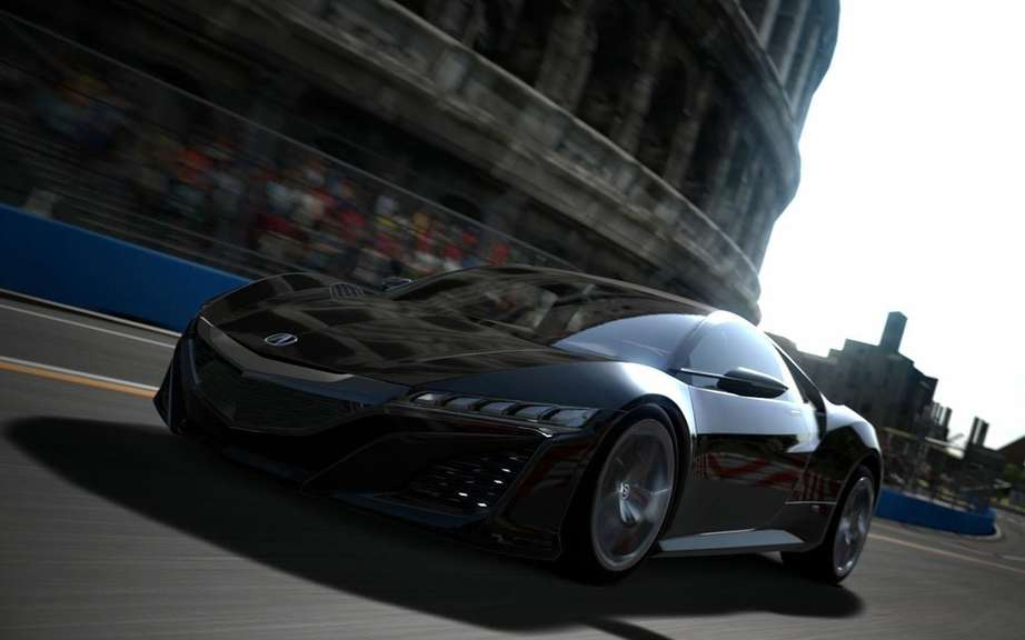 Acura NSX Concept: another star Gran Turismo 6 picture #6