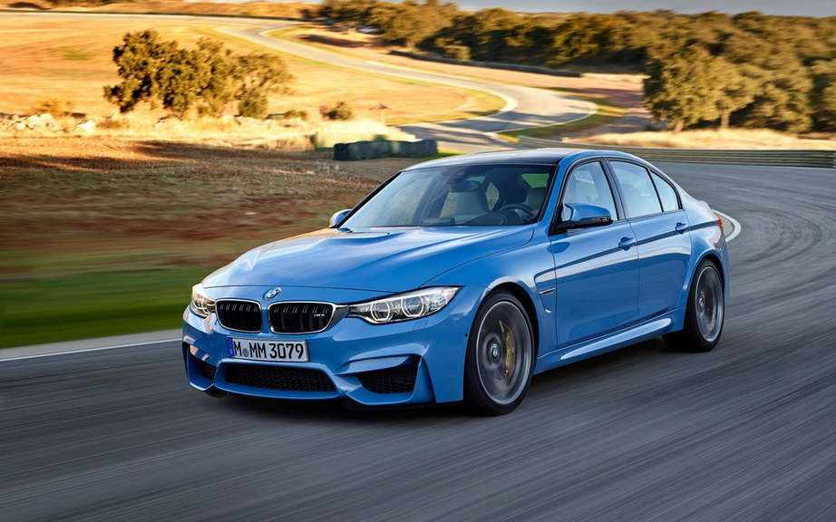 Here are the 2015 BMW M3 and M4 picture #12