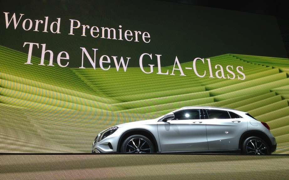 Start of production of the Mercedes-Benz GLA picture #3