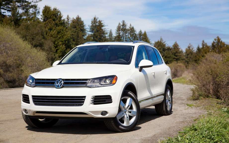 Volkswagen Touareg X for the North American market