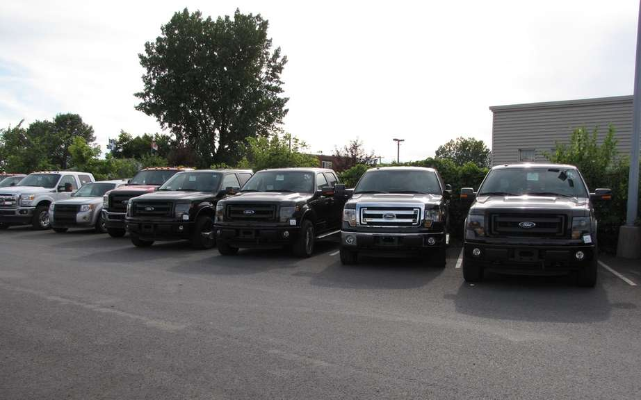 Canadian Car and truck sales increase picture #2