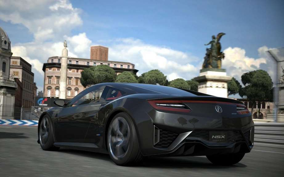 Acura NSX Concept: another star Gran Turismo 6 picture #7