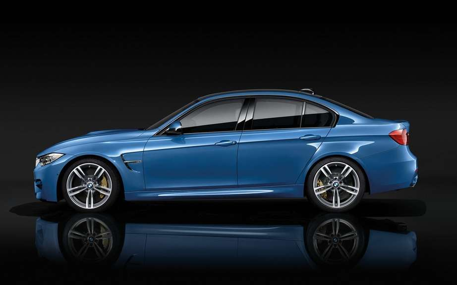 Here are the 2015 BMW M3 and M4 picture #13