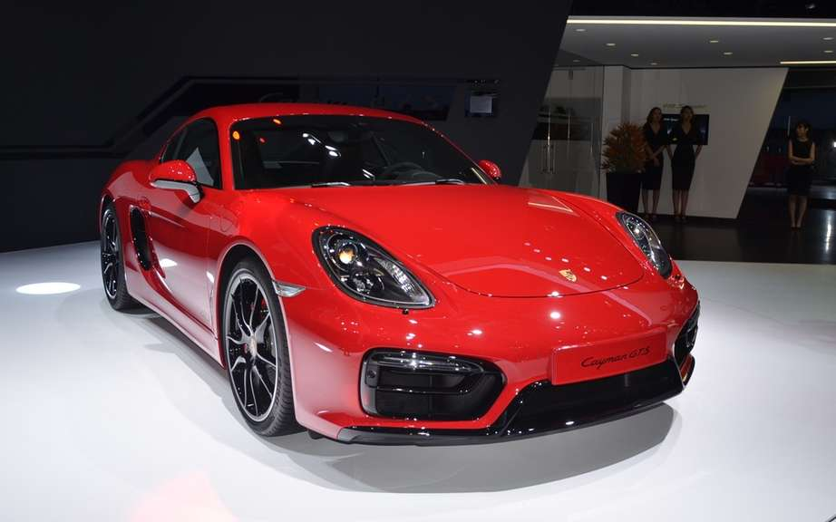 The Boxster and Cayman GTS Unveiled picture #11