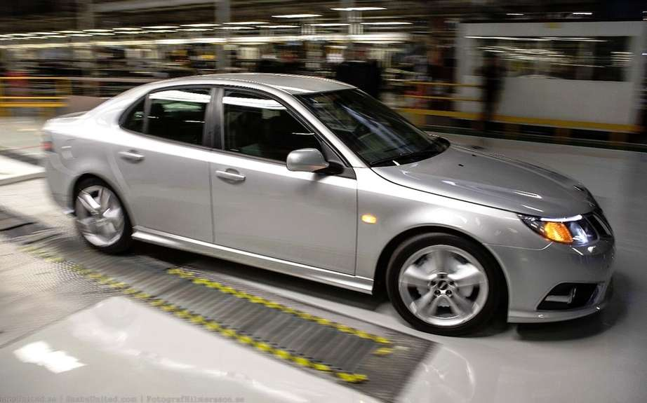 Saab resumes production picture #3
