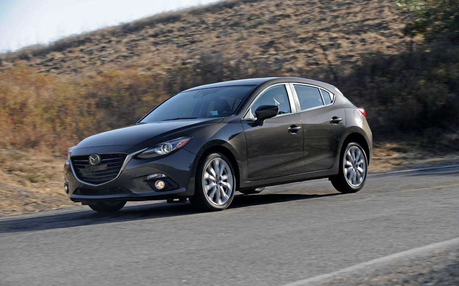 European Mazda3: 5 stars in Euro NCAP tests