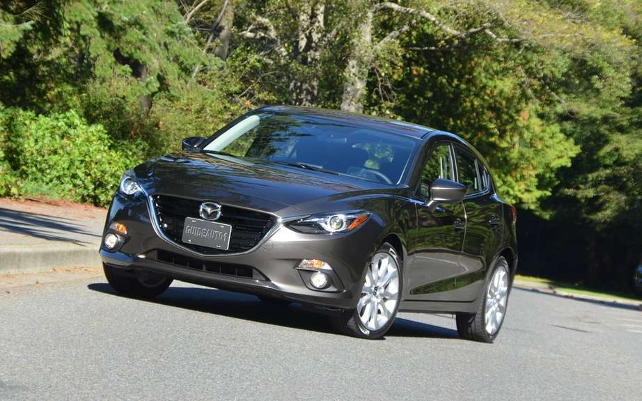 European Mazda3: 5 stars in Euro NCAP tests picture #2