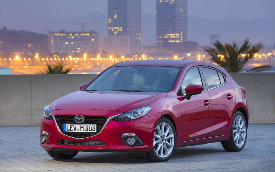 European Mazda3: 5 stars in Euro NCAP tests picture #4