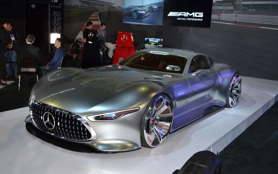 Mercedes-Benz AMG Vision Gran Turismo: produced five copies picture #5