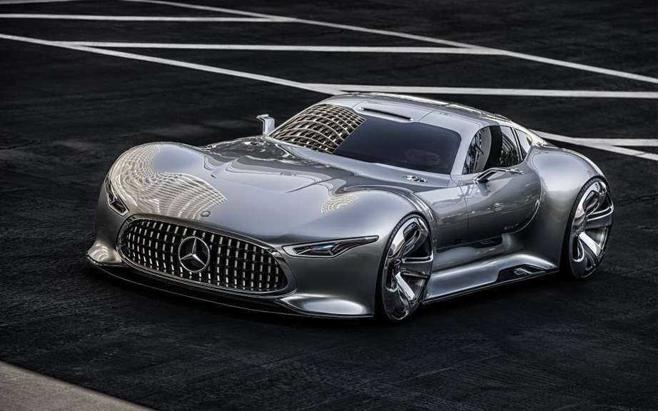 Mercedes-Benz AMG Vision Gran Turismo: produced five copies picture #8