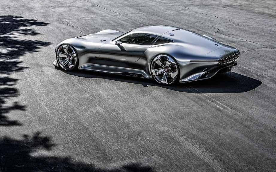 Mercedes-Benz AMG Vision Gran Turismo: produced five copies picture #9