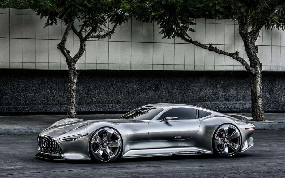 Mercedes-Benz AMG Vision Gran Turismo: produced five copies picture #10