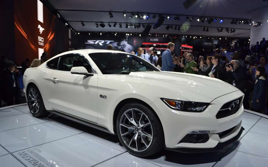 The new 2015 Ford Mustang is unveiled