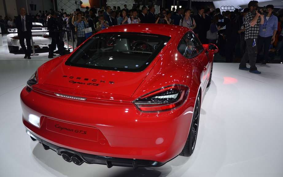 The Boxster and Cayman GTS Unveiled picture #12